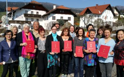 XXVI. QiGong-Grundausbildung – 4. Woche