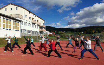 VI. TaiJi Quan – Grundausbildung 5. Woche
